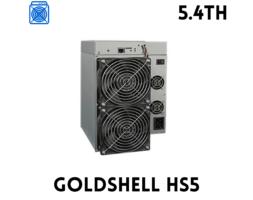 GOLDSHELL HS5 – SIACOIN HANDSHAKE MINER (5.4TH)