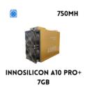 INNOSILICON A10 PRO+ ETH MINER 7GB (750MH)
