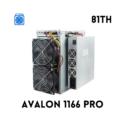 CANAAN AVALON MINER 1166 PRO (81TH)
