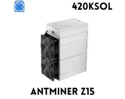 BITMAIN ANTMINER Z15 (420KSOL)