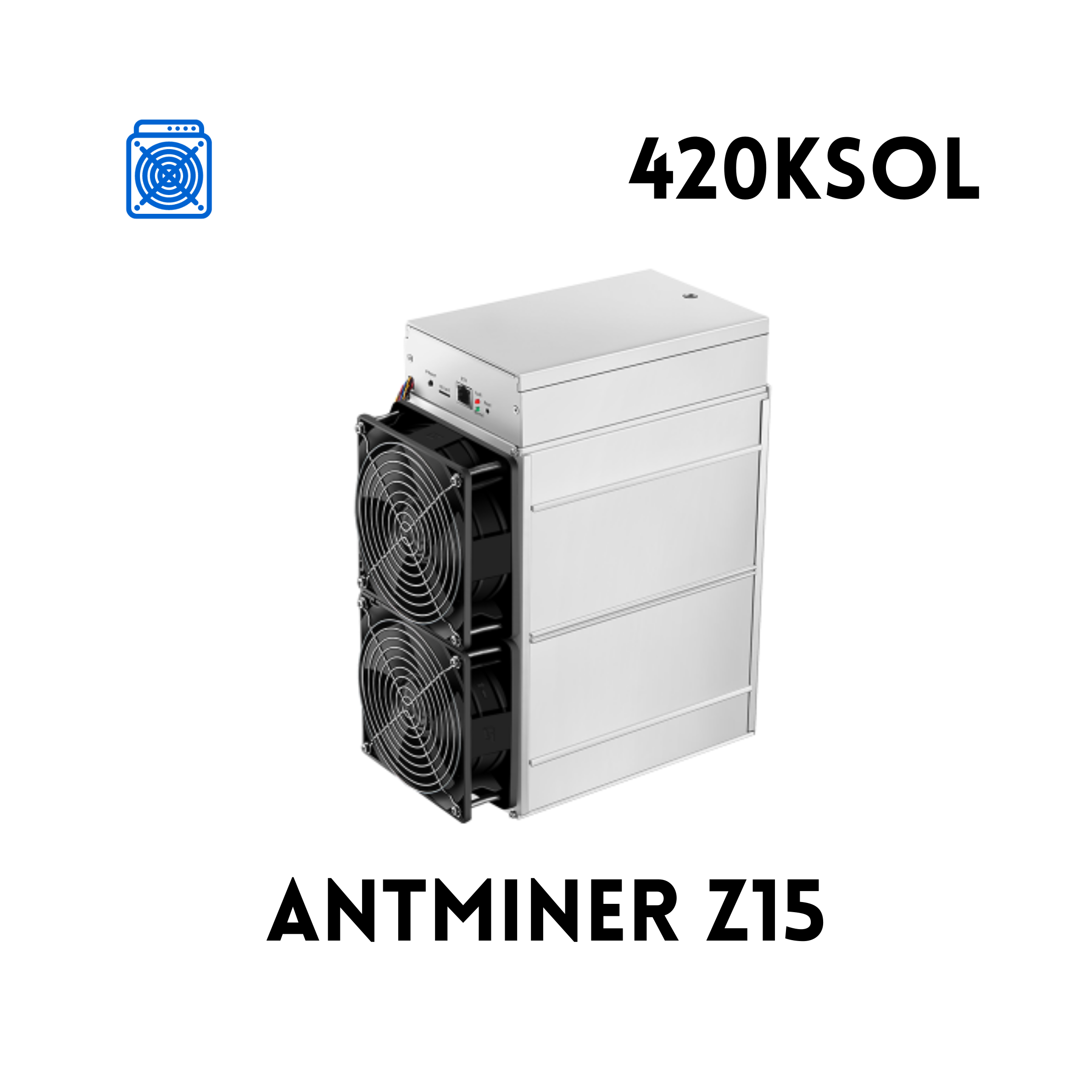 BITMAIN ANTMINER Z15 (420KSOL)   Asic Marketplace